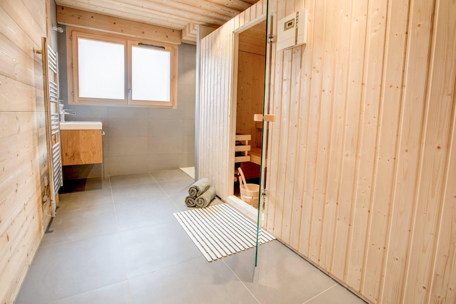 Chalet Les Roches Noires Sauna