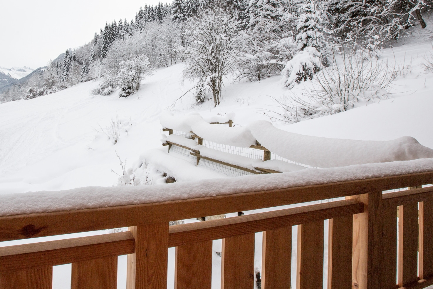 Altaka 4 View from luxury self catered apartment Morzine