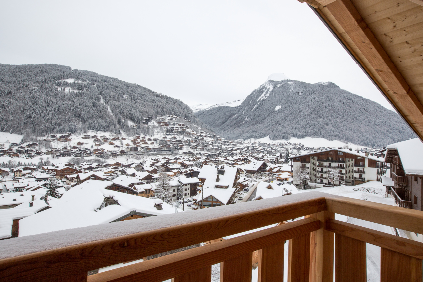 Altaka 2 view from luxury self catered apartment morzine