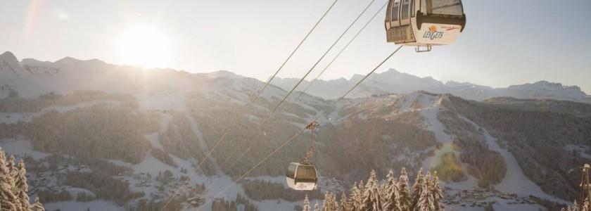 Morzine Skiing, Mont Chery