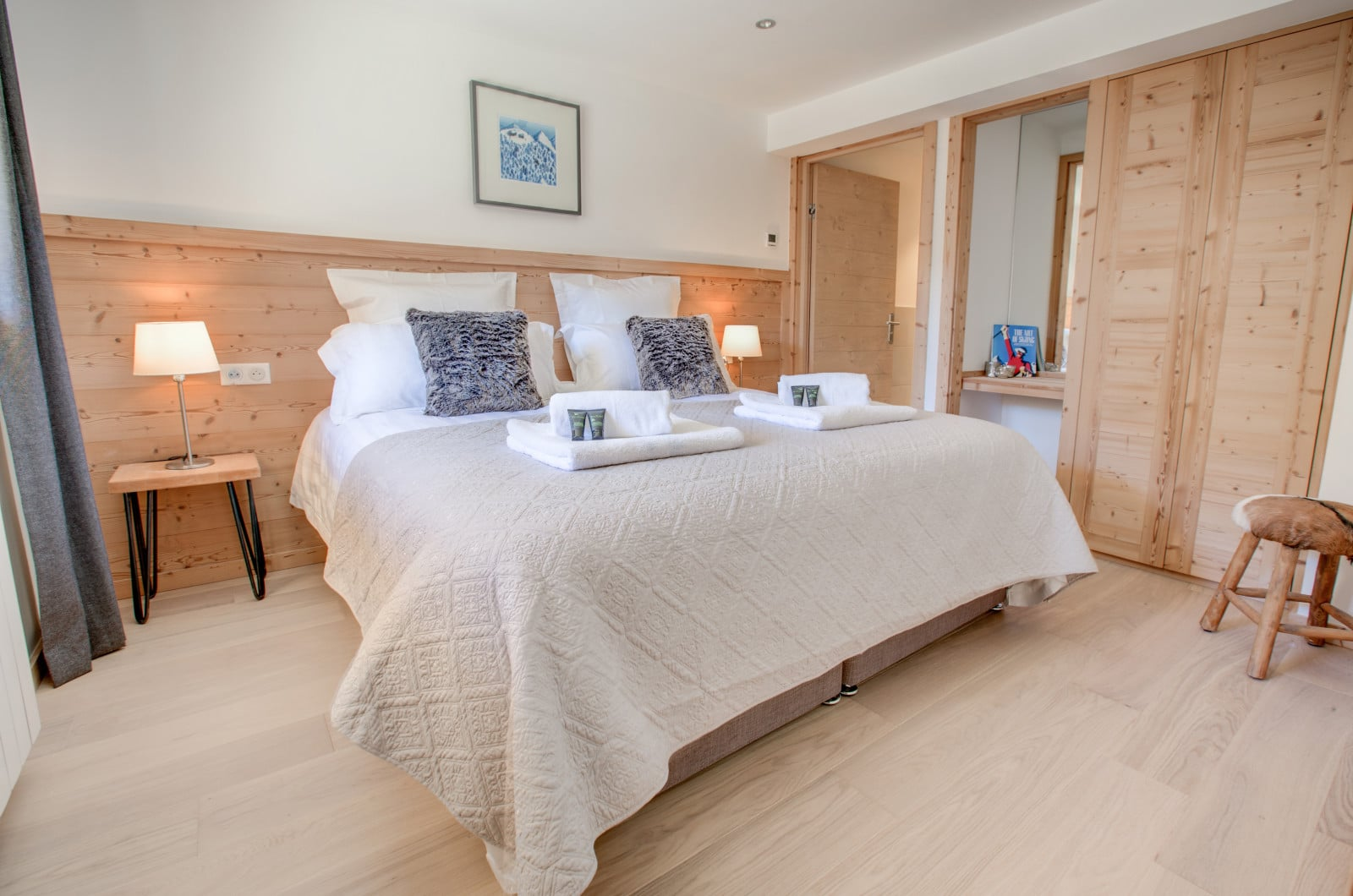 Chalet North Star Bedroom