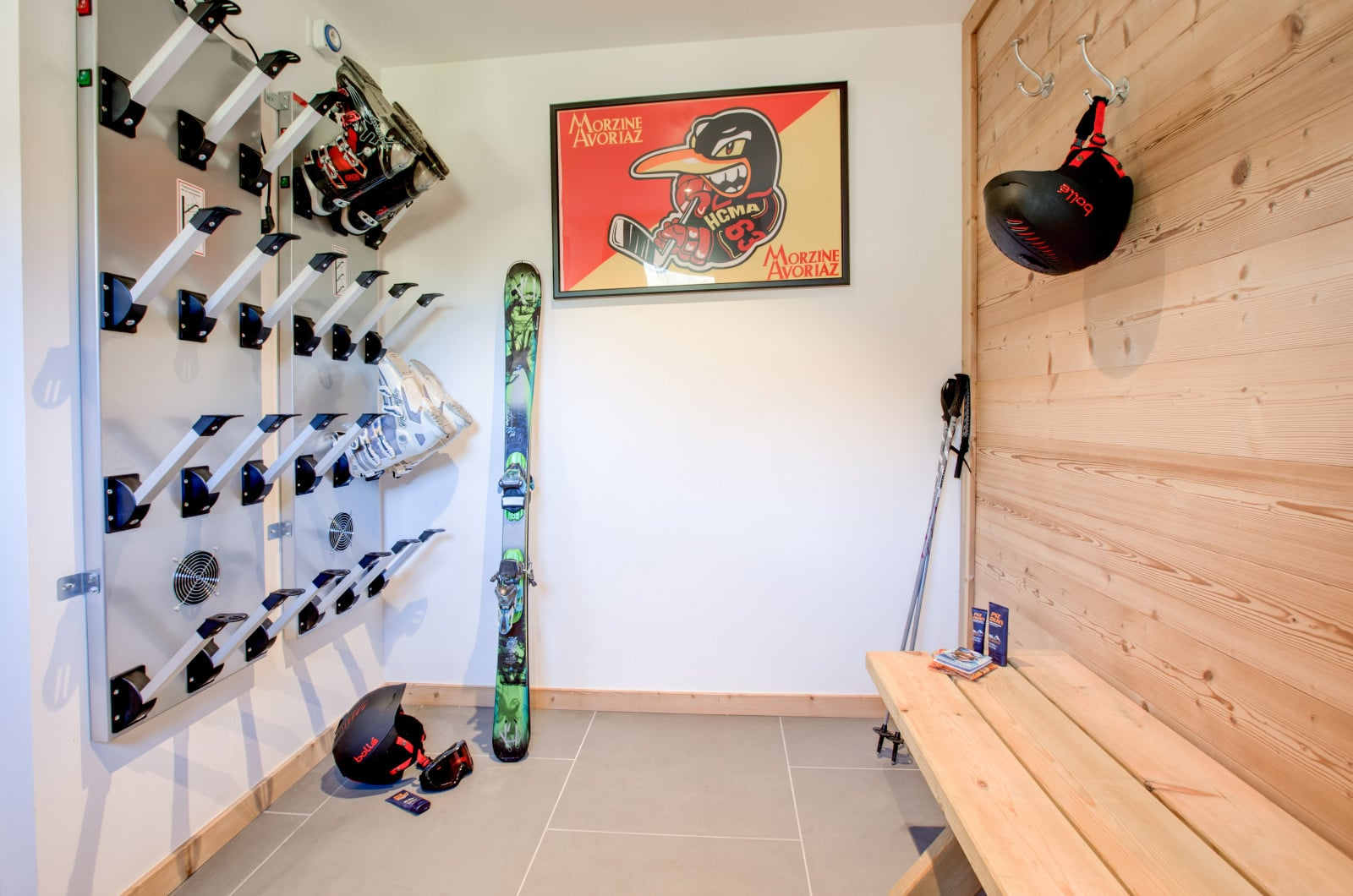 chalet north star boot room