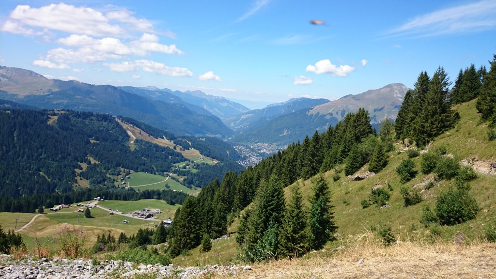 Hiking around Morzine