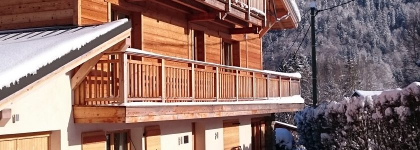 Chalet North Star Morzine Exterior