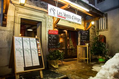 les vents d'anges morzine, restaurant morzine