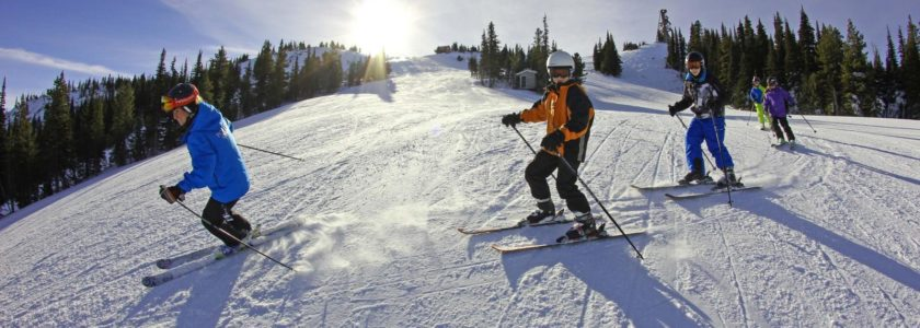 Skiing lessons in Morzine