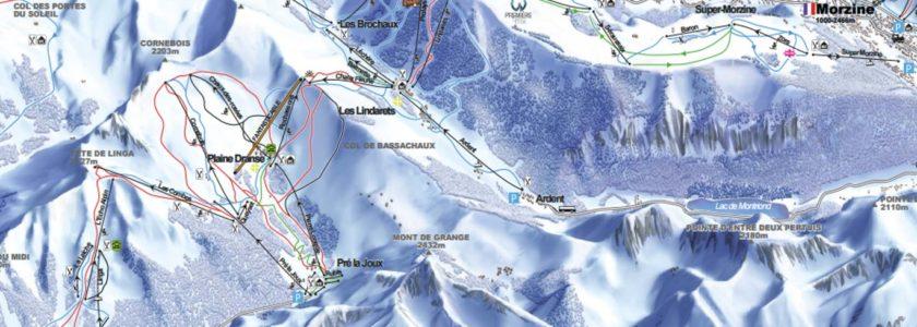 Morzine Ski Route