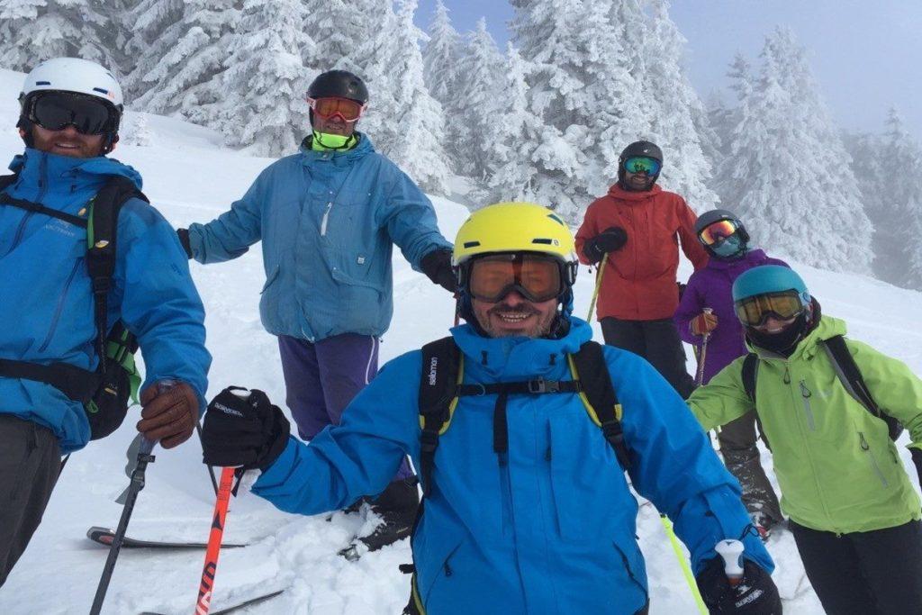 ski lessons morzine