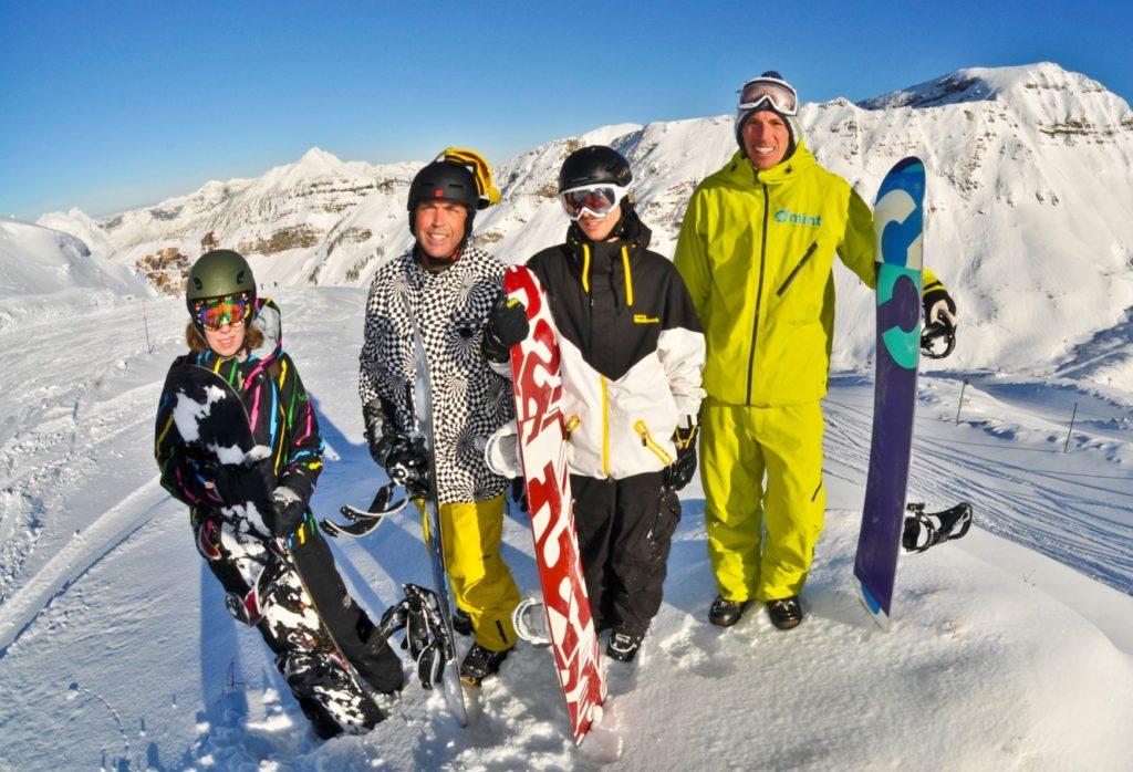 snowboarding lessons morzine