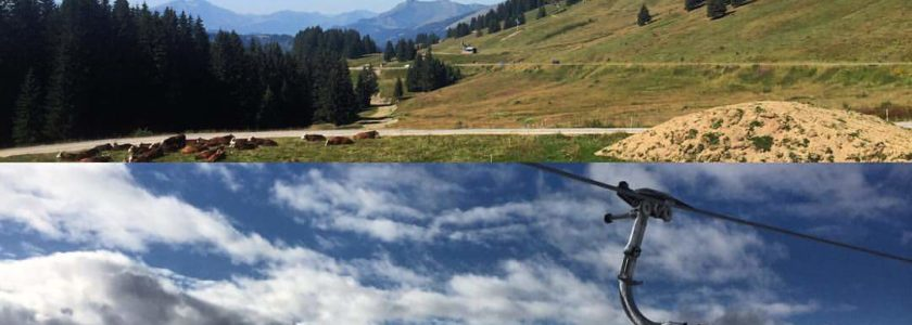 summer vs winter morzine