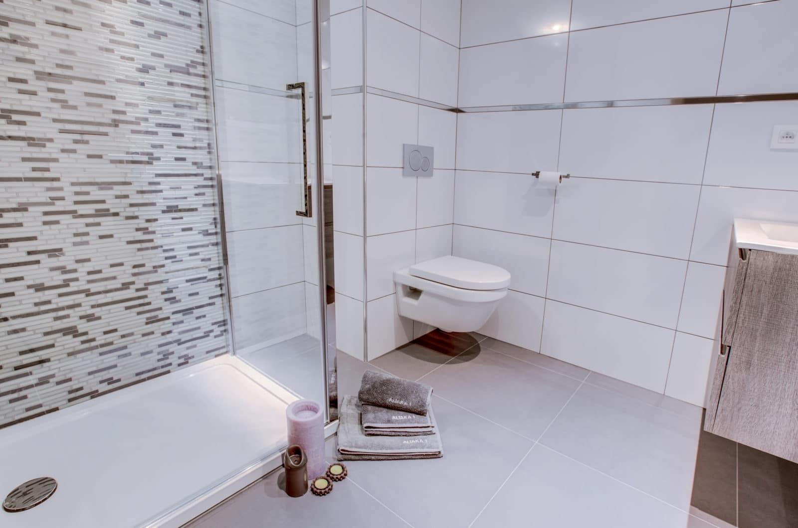 Altaka 1 Family Bathrom Luxury Self Catered Morzine