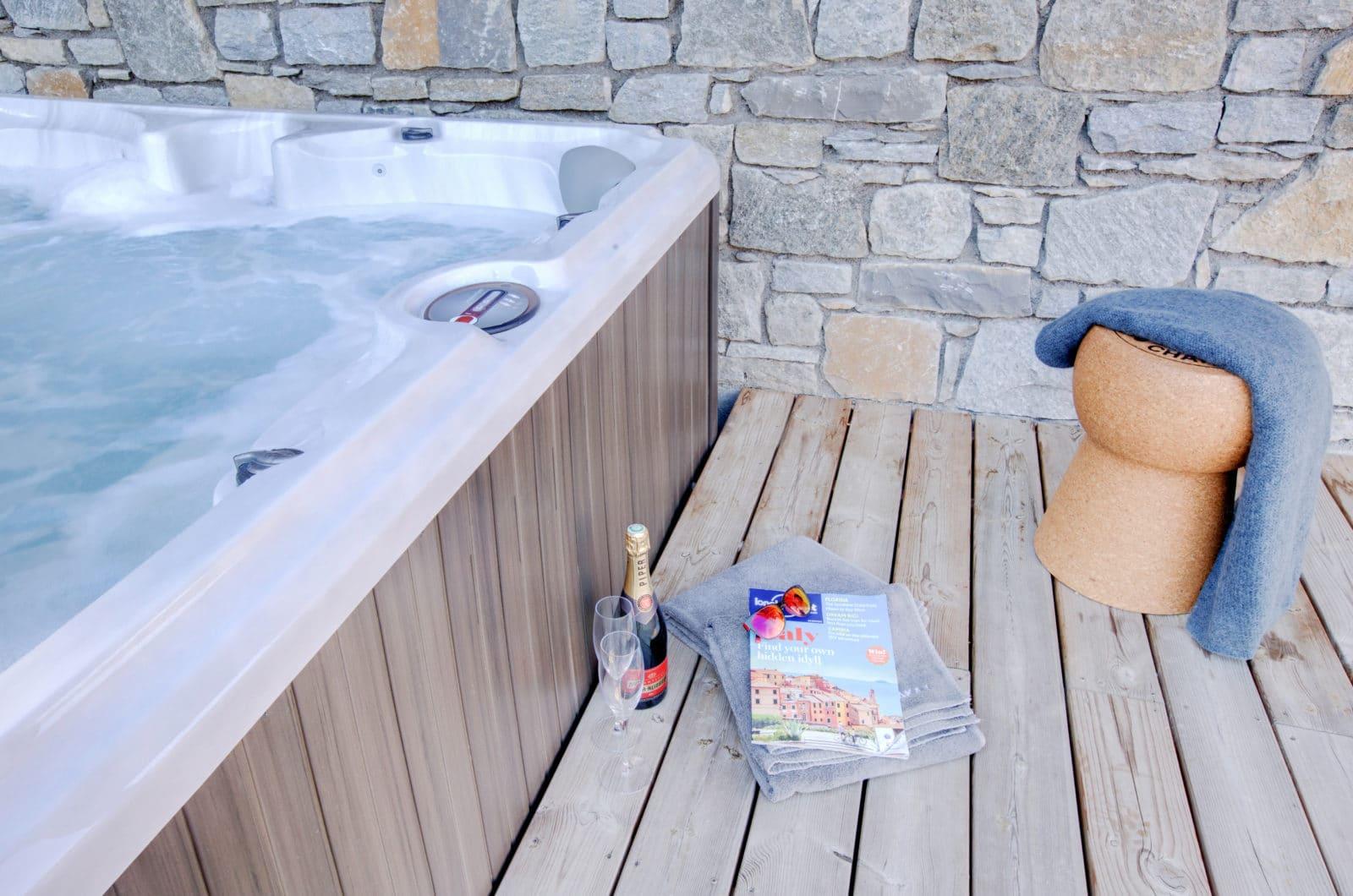 Altaka 1 Hot Tub Luxury Self Catered Morzine