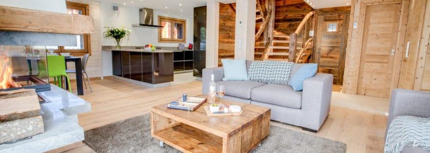 Chalet L'Anton Living Room