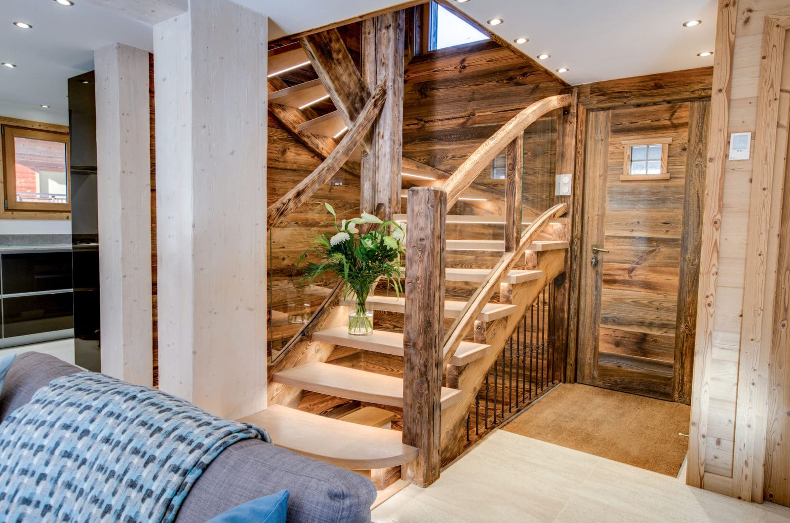 Chalet L'Anton Stairs