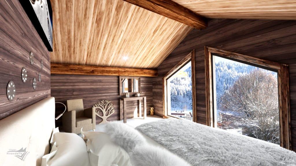 Hirondelle L'Etoile Bedroom