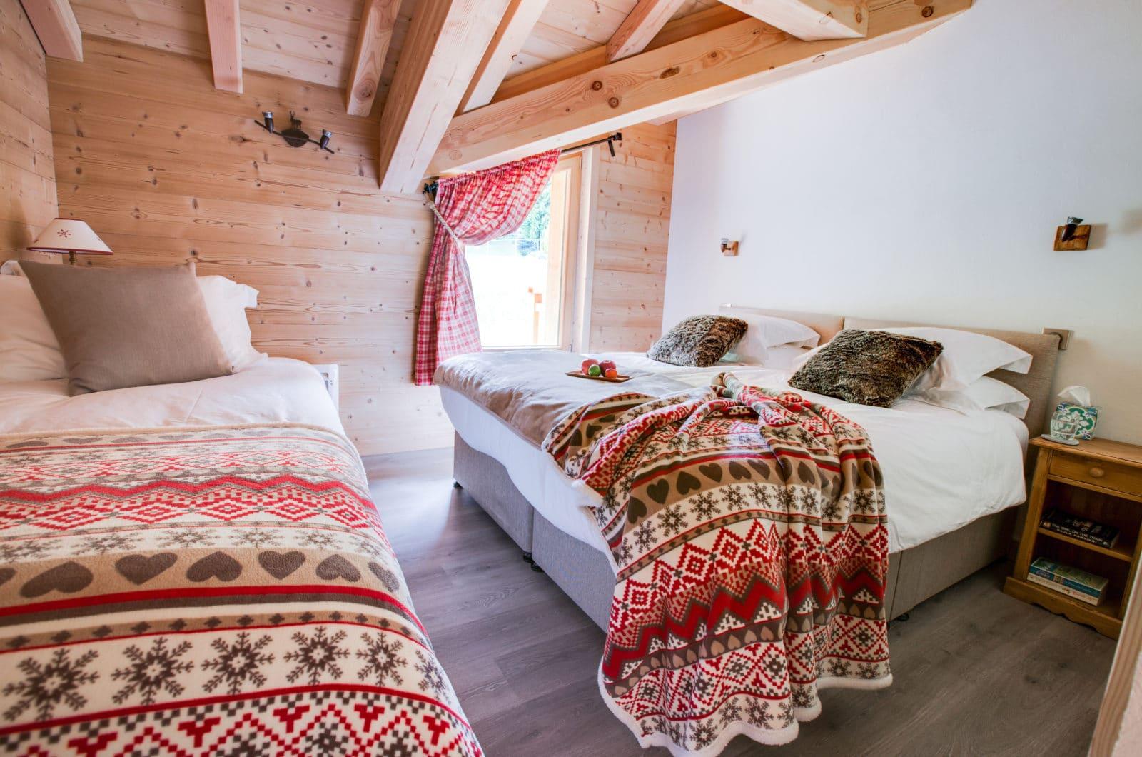 Chalet L'Elegante Bedroom