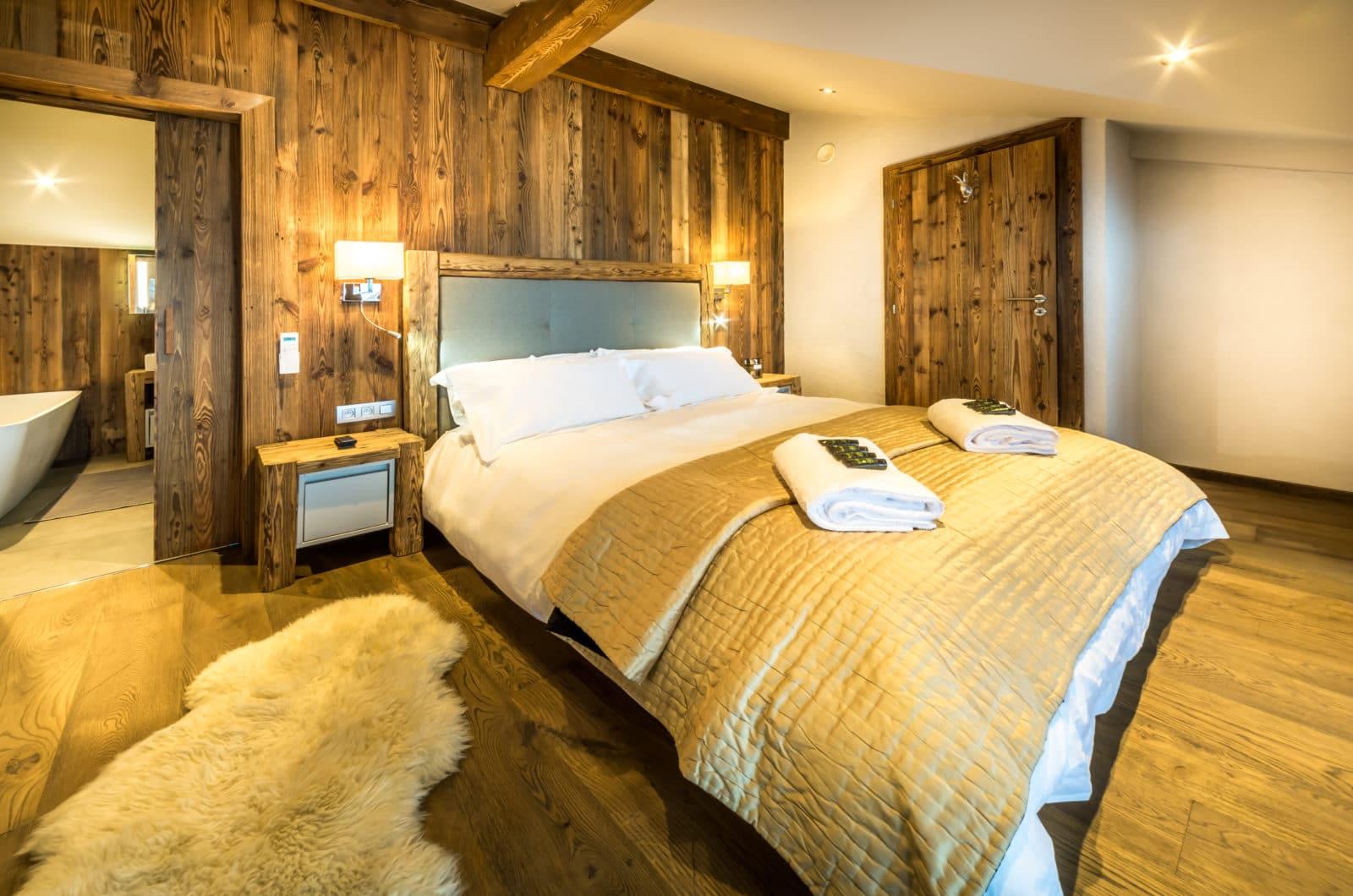 Chalet Kapa Master Bedroom
