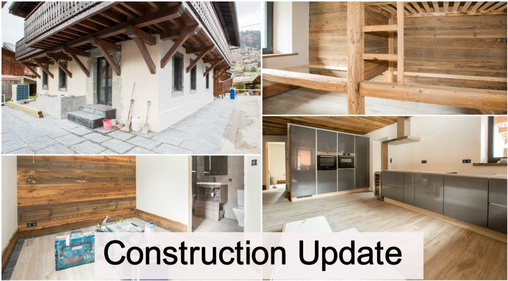 Ferme Colline D'En Bas Construction Update