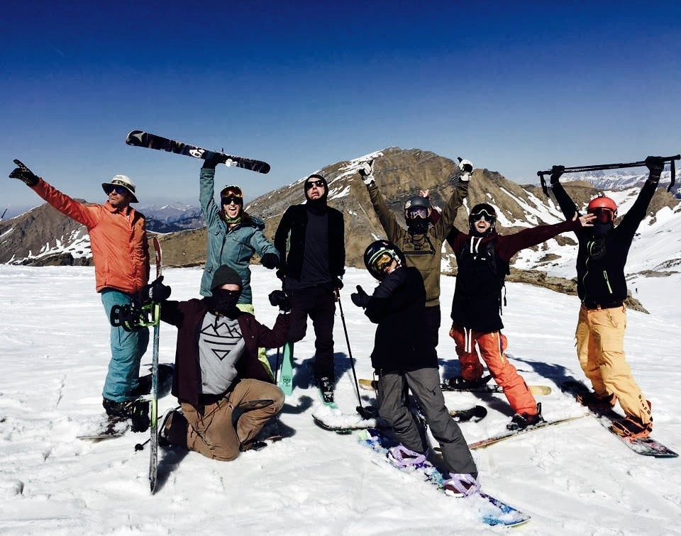 Rock On Snowboard Tour