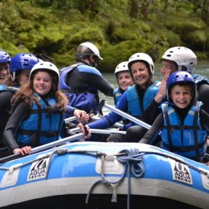 Frogs White Water Rafting