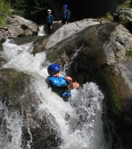 Canyoning in Morzine