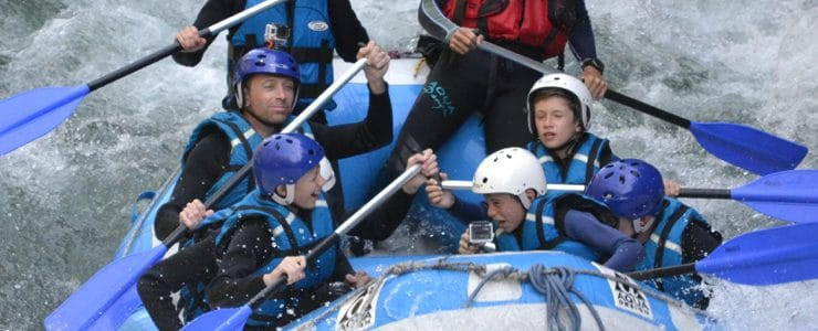 white water rafting Morzine