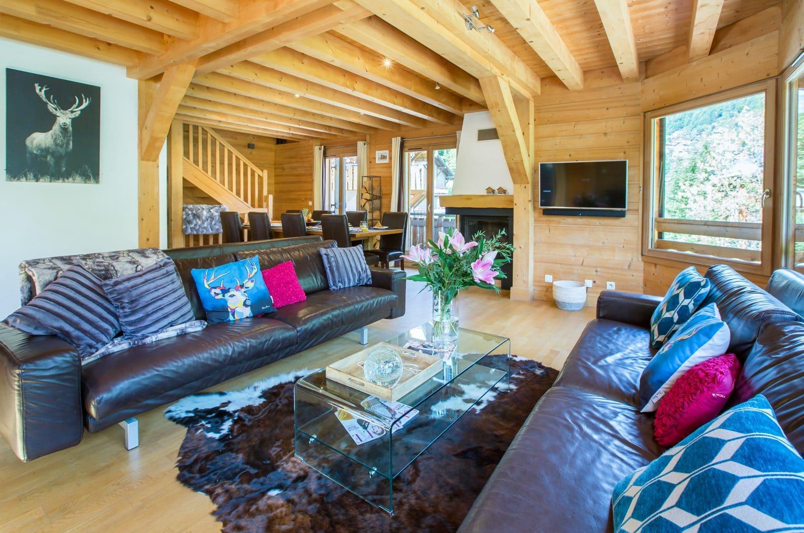 Chalet La Dranse Living Area 5