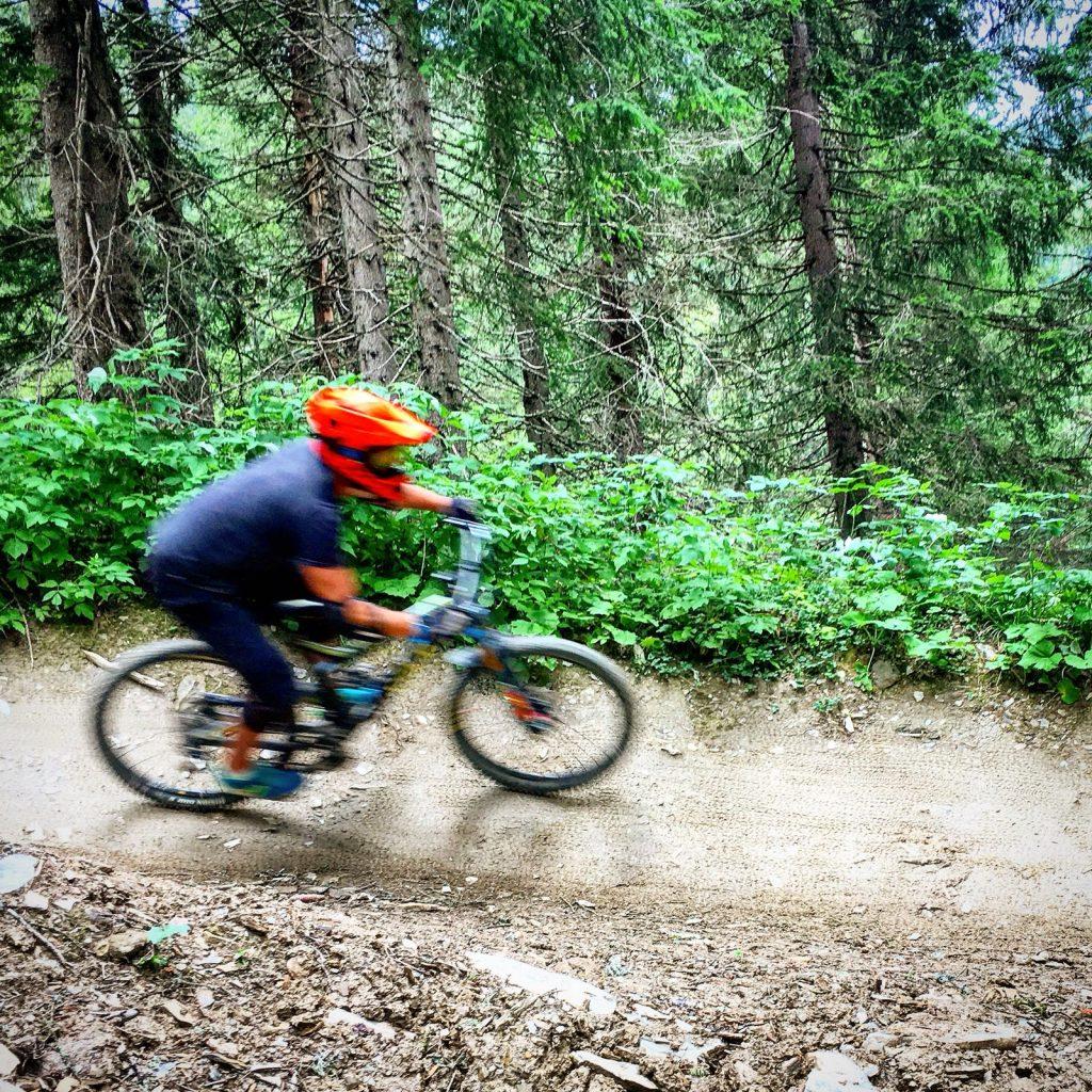 bike hire in morzine downhill biking