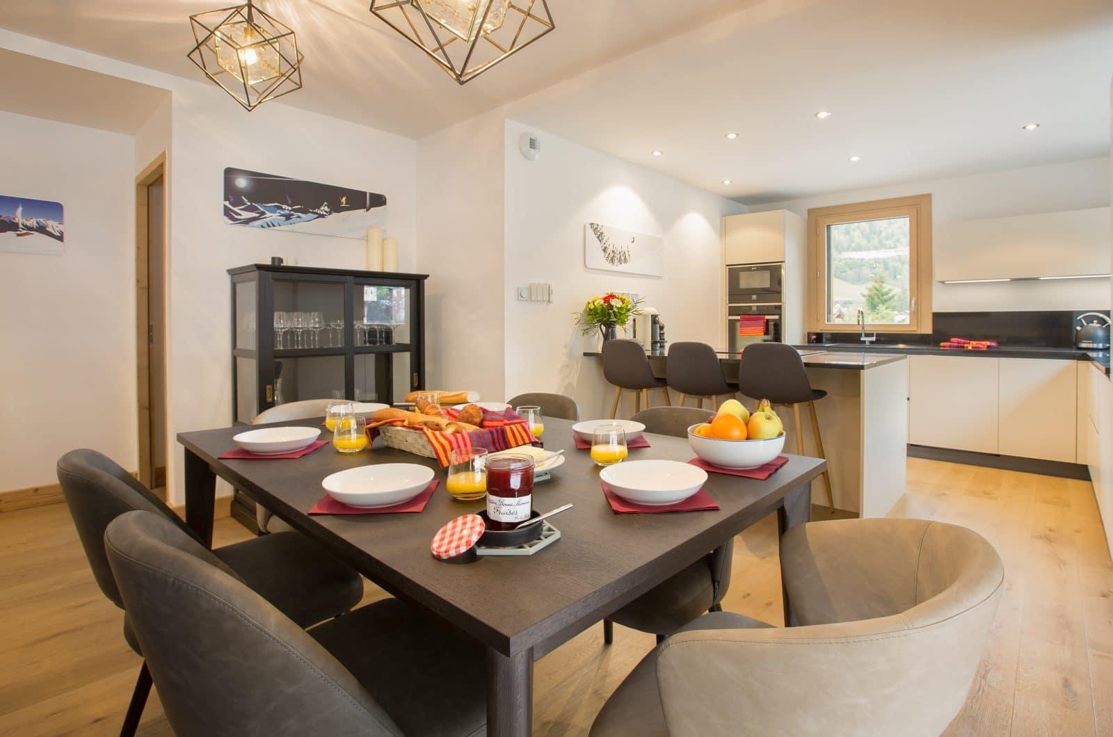Apartment Asta Dining 50m from Pleney Lift Morzine