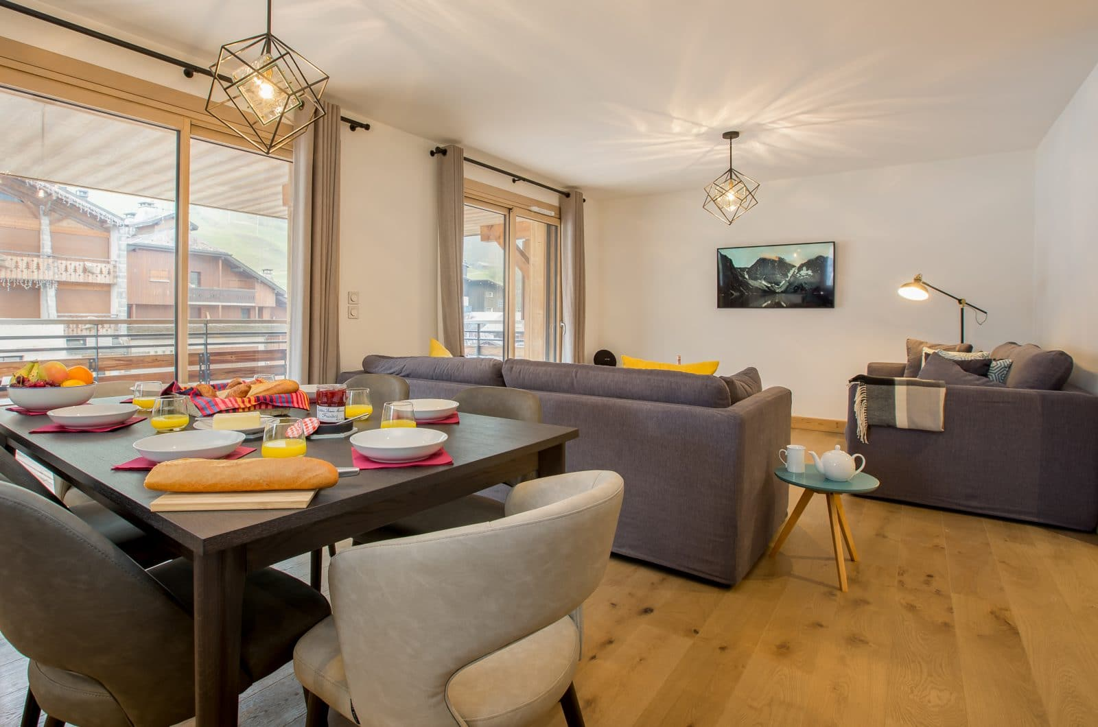 Apartment Asta Living 50m from Pleney Lift Morzine