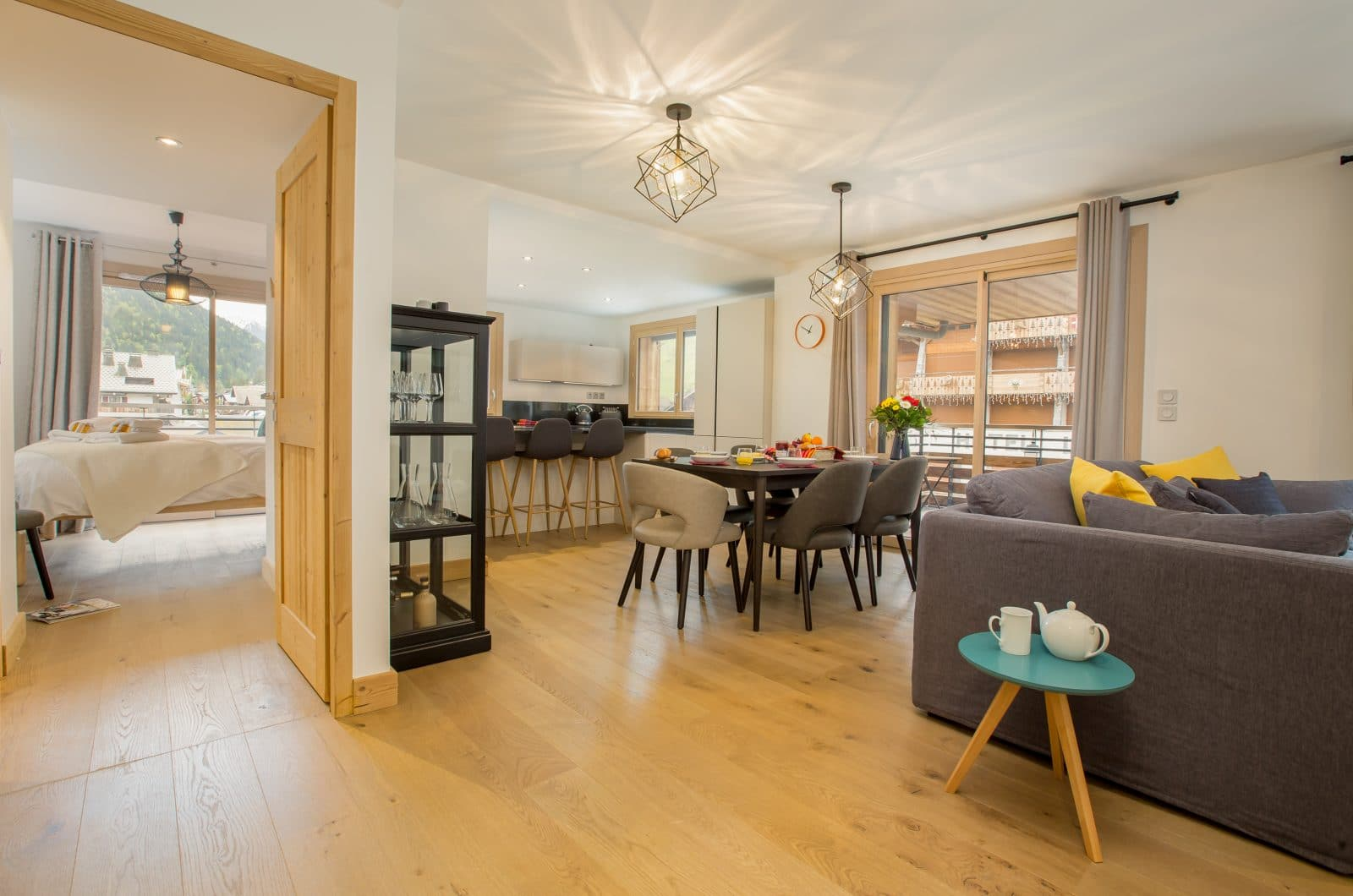 Apartment Asta Open Plan Living 50m from Pleney Lift Morzine