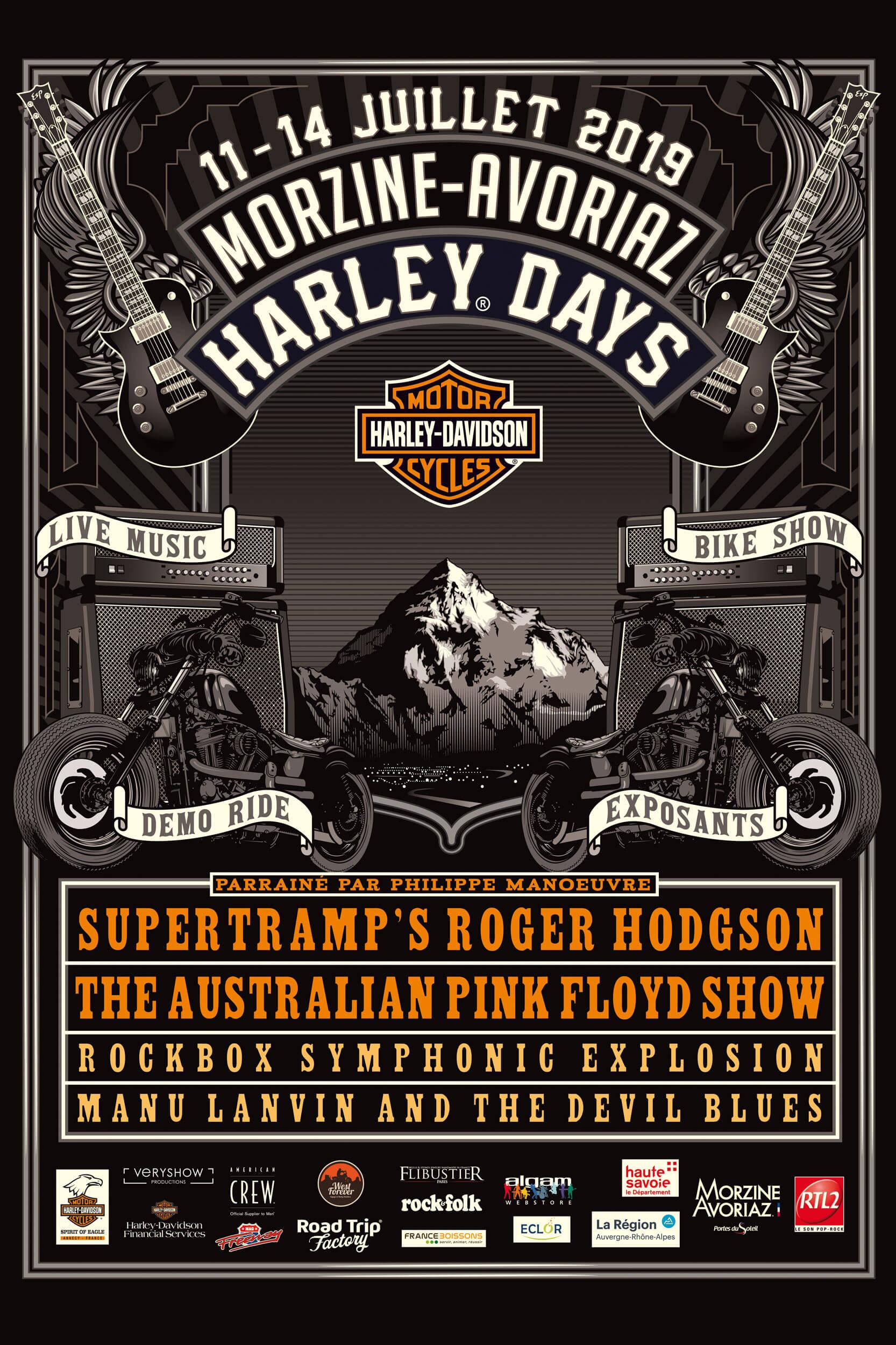 summer morzine harley days festival 2019 (1)