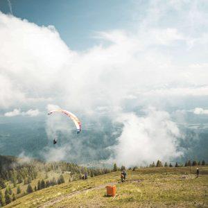 paragliding Morzine 2