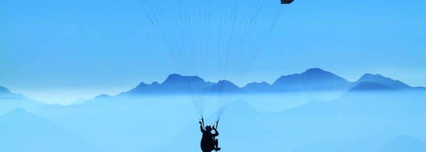 paragliding Morzine