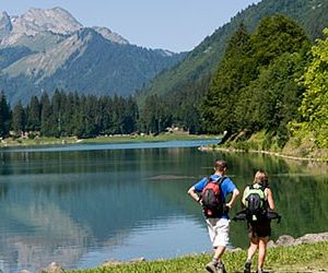 Lac Montriond hike 1
