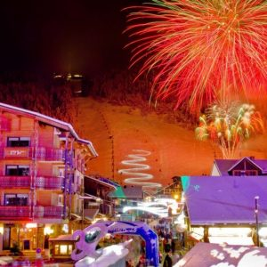 fireworks for christmas in morzine