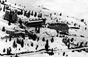 history of skiing in Morzine Avoriaz under construction in the 1960s