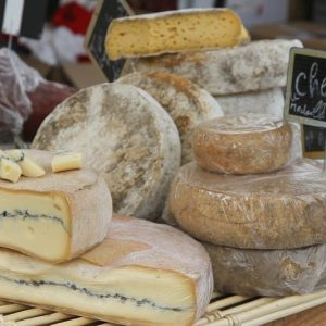 cheese from Morzine weekly market