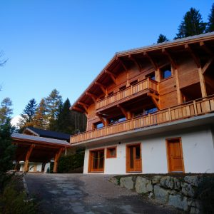 Chalet Tyron Morzine 5 bedroom new build
