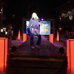 fashion show in Morzine