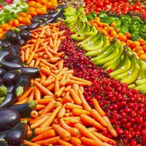Market stall in Morzine