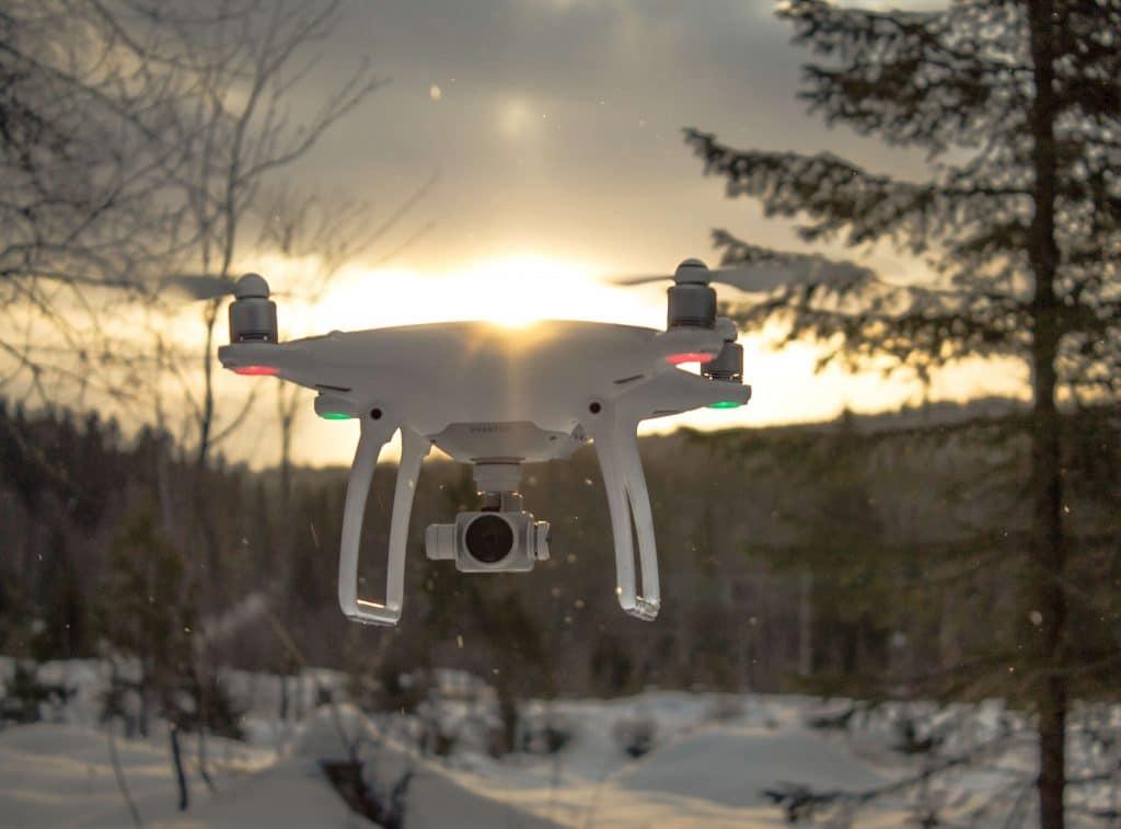 Morzine Film Awards drone camera