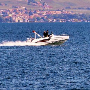 Motor Boat hire on the lake