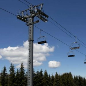 new Morzine ski lift 2 - old belvedere