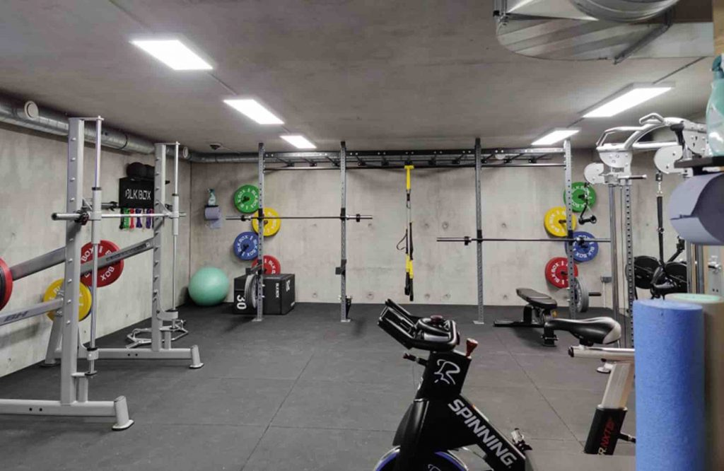 Gym in Morzine - THe Hive 1