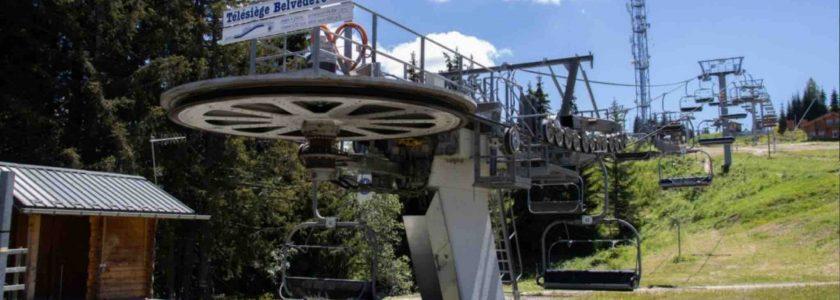 new morzine ski lift - old belvedere