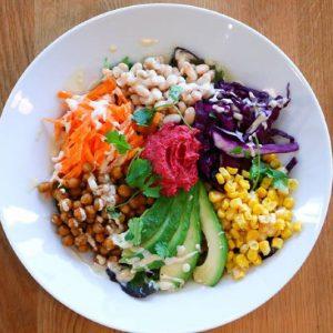 wild beets in Morzine - salad